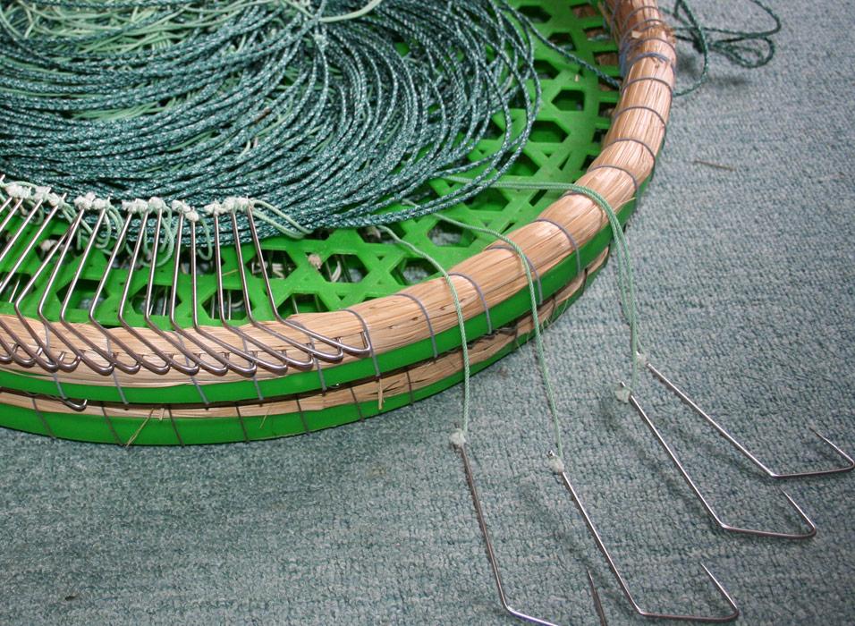空縄釣りに使用される針付きの縄